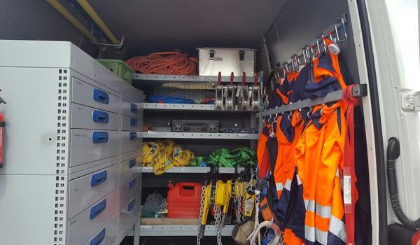 Unsere Monteure sind mit dem modernsten Equipment ausgestattet